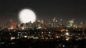 Ortigas Center Nightscape by celdaran