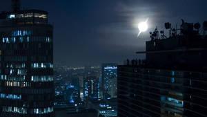 Sao Paulo at Night by celdaran