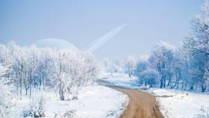 Snowy Lane by celdaran