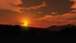 Red Sky by celdaran