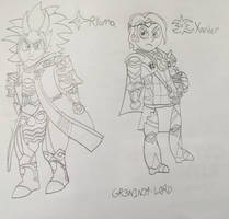Elders of Fates (Uncolored) by GR3N1NJ4-L0RD