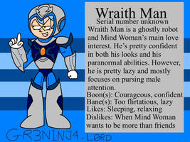 Wraith Man  by GR3N1NJ4-L0RD
