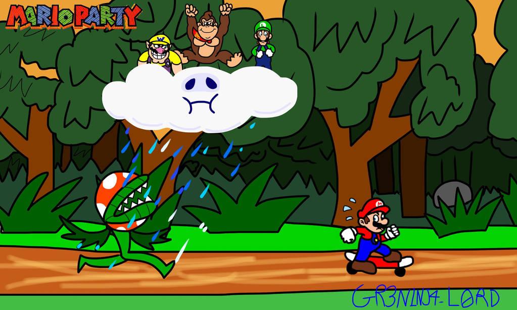 Mario Party 100: The Top 100 - Piranhas Pursuit by GR3N1NJ4-L0RD