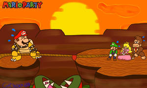 Mario Party: The Top 100 - Tug O War by GR3N1NJ4-L0RD