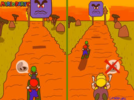 Mario Party: The Top 100 - Desert Dash by GR3N1NJ4-L0RD