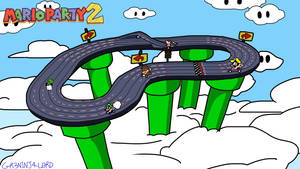 Mario Party: The Top 100 - Slot Car Derby by GR3N1NJ4-L0RD