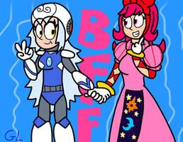 BFFs by GR3N1NJ4-L0RD