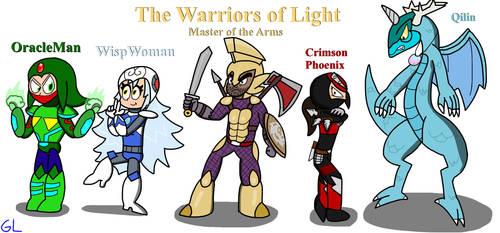 Warriors of Light by GR3N1NJ4-L0RD
