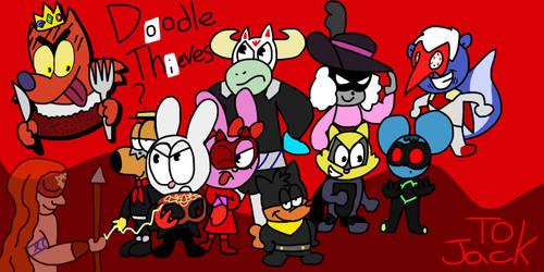 Doodle Thieves by GR3N1NJ4-L0RD