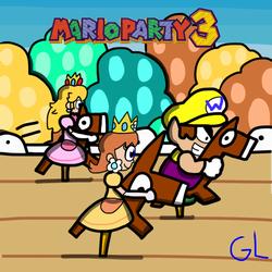 Mario Party: The Top 100 - Rockin Raceway by GR3N1NJ4-L0RD