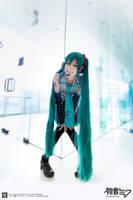 Smile Smile-Hatsune Miku by rayrinaruth