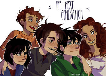 The Next Generation by cookiecreation