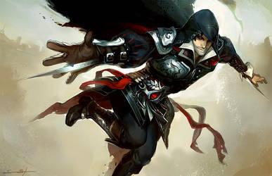 Ezio by fayrenpickpocket
