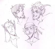Rynnay's Boys by fayrenpickpocket