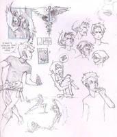 Sketchpage by fayrenpickpocket