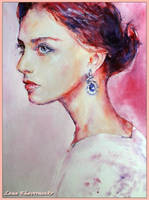 The elegant look by LORETANA