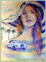 Sun, palm trees ... adventure by LORETANA