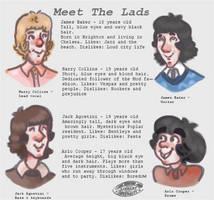 The Lads by bunnylavi