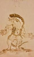 Old Monster Doodle by Dingle-Dangle-Demon