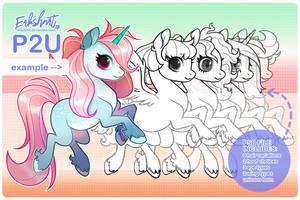 { P2U ] Pony Base by erkshnrt