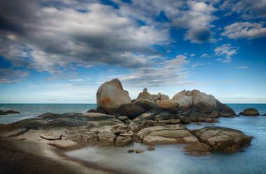 Tikus Beach by melintir