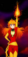 Phoenix Lina - Commission by Prettio