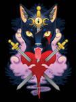 Cat of Swords by KodiKat
