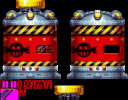 Sonic Mania - Trapsule Sprite by DogeMayo
