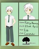 KA: Yukiya Nanase by Cdoll22