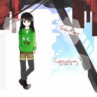Mekaku-City: Erika Miyagi by Cdoll22