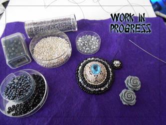 Creativity Bracelet WIP by EiljaGorgor
