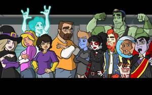 Cast by ZombieRoomie
