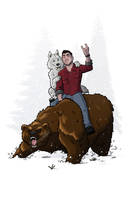 Bear back by ZombieRoomie