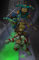 Turtles by ZombieRoomie