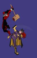 Gotham Gals by ZombieRoomie