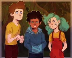 The Camp Gang by Balma-Bunny