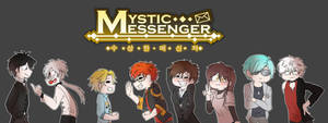 A Large Image - Mystic Messenger by Kwheinic