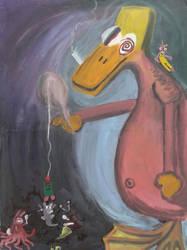 Crazy Duck by crazybirds