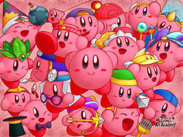 The many abilities of Kirby by CluelessDanny