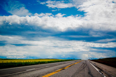 Highway Sky by wolfgatephotography