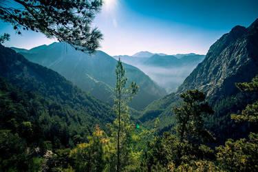 Mountain Vista by wolfgatephotography