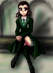 Trini-slytherin by krow000666