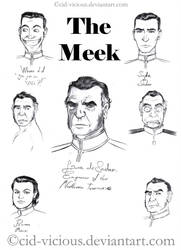 The Meek Sketches by Cid-Vicious