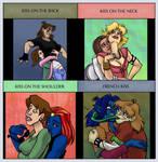 Kiss Meme: Sexy Evo Edition by bonnieslashfiend