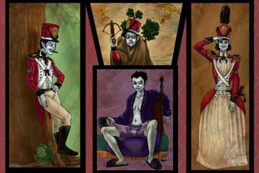 More Portraits of a Malcontent by bonnieslashfiend