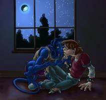 Moonlight comfort by bonnieslashfiend