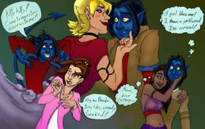 Kurt: Girls I have chased by bonnieslashfiend