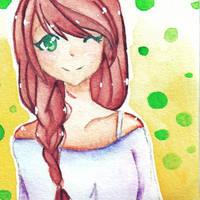 Braids Hair Girl - ????? - (IDK NEED A NAME ) by Mimyoi