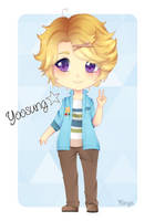 Yoosung Chibi [MM FanArt] by Mimyoi