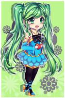 Miku Hatsune Chibi by Mimyoi